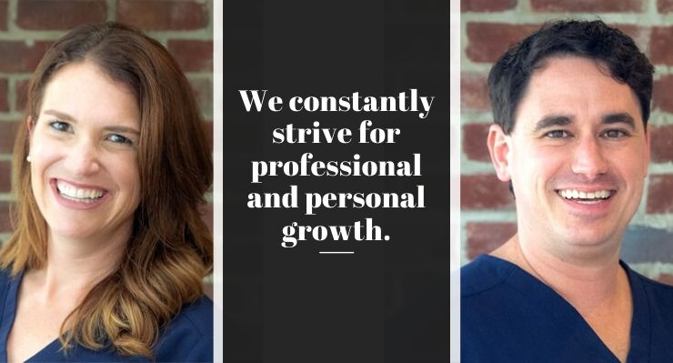 We constantly strive for professional and personal growth.